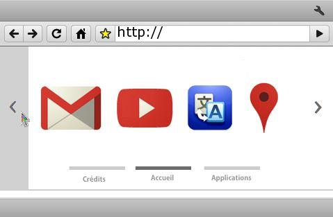 PSPブラウザをGoogleChrome風に「PSPChromePro v0.6」 youtubeやGoogleMap等