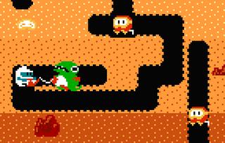 ファミコン版「ディグダグ」ゲームボーイ「マリオゴルフGB」が3DSバーチャルコンソールに登場