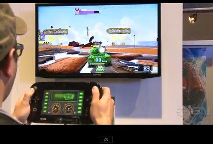 Wii U「TANK! TANK! TANK!」のプロモーションムービーが公開