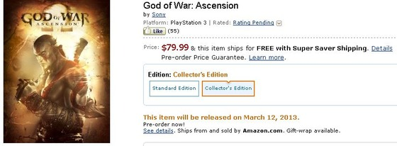 「God of War: Ascension」IGNによるCam直撮りプレイムービー 最新プレイムービー公開