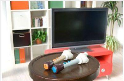 指型リモコン「テレビの手」振るだけでテレビを操作できるリモコン