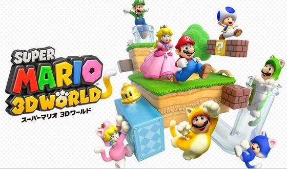 Wii U「スーパーマリオ 3Dワールド」 プレイムービーが公開