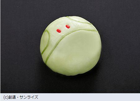 肉まんコラボ「ハロまん」アニメ「機動戦士ガンダム」のハロがモチーフ