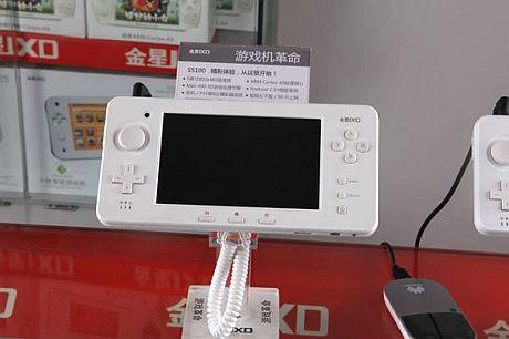 3DS?似ているだけ!!中国製の携帯機 「JXDS5100」が発表