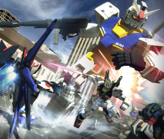 PS3/PSV「ガンダムブレイカー」 PS3版の発売予定日が6月27日に決定、体験版が配信開始、Amazon予約が開始
