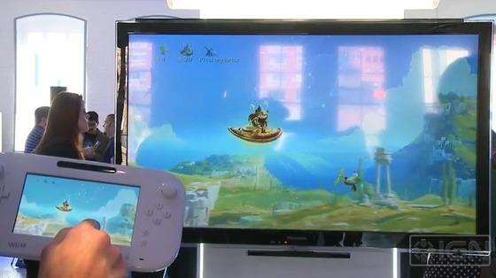 UbisoftのRaymanクリエイタ, Wii Uゲームパッドは遅延1/60秒の神レスポンスだ!