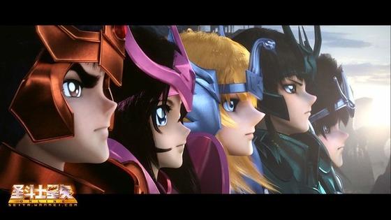 「聖闘士星矢 ONLINE」の プロモーション映像が中国にて初公開