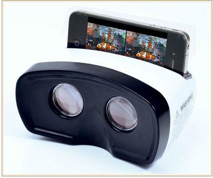 ビューマスターをiPhoneで利用して3D映像を楽しむファインダー。 サンワサプライから登場。1980円