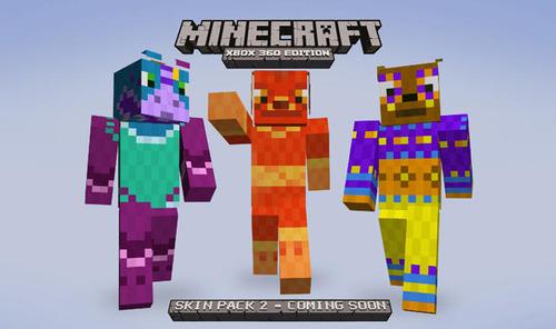 XLA「Minecraft」スキンパック第2弾の全イメージが公開