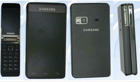 Samsungはタッチスクリーンを2つ搭載した 折畳み式のAndroidスマートフォン「GT-B9120」 を中国で発売する予定