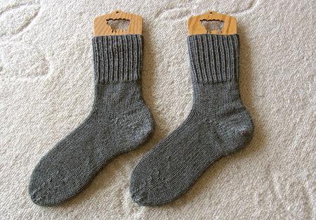 猪谷さんの靴下グレー