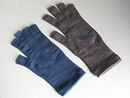 薄手の指なし手袋