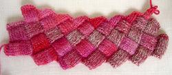 バスケット編み部分