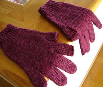 親指・人差し指なし手袋