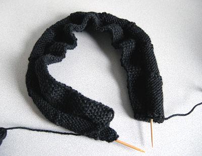 新しいの編む