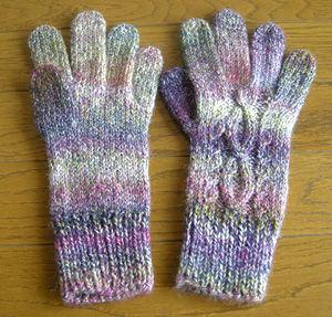 メイクメイクパフェの手袋
