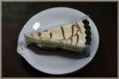 チョコマーブルレアチーズケーキ