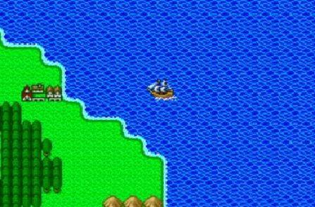 ドラクエ5のチロルってどうやって海を渡ったの?