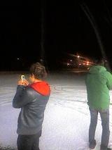 雪を撮る人々