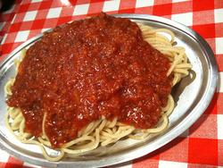 スパゲティーのパンチョ ミートソース