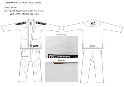 lutador kimonos product details