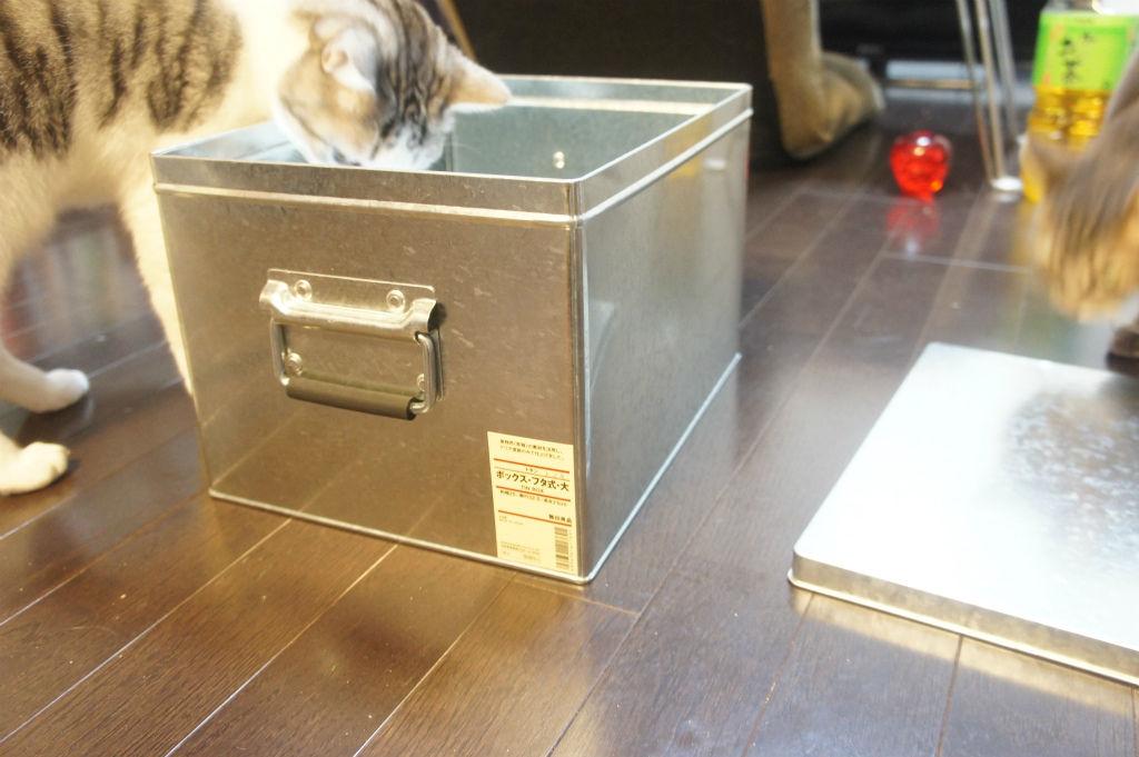 無印良品のトタンボックスがなかなか使える件 : ツンギレ猫の ...