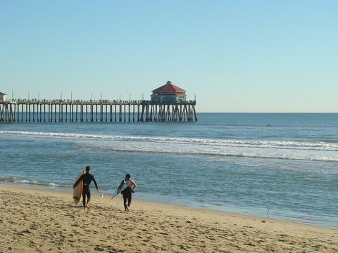 bến tàu Huntington Beach