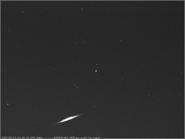 5月11日流星観測