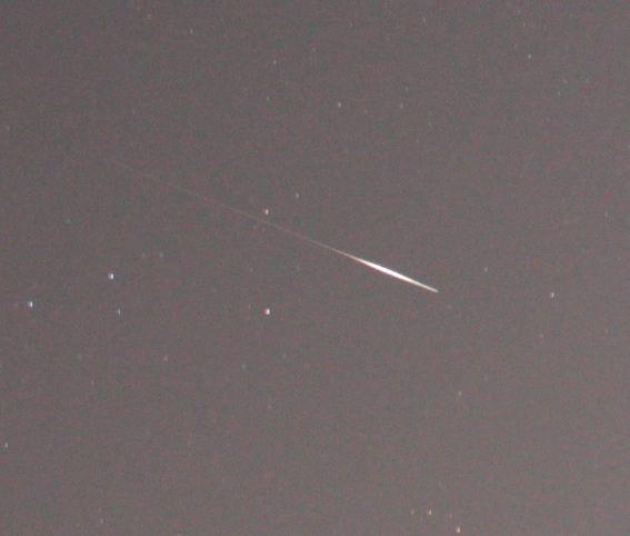 2月3日19時01分出現の流星