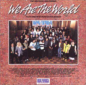名曲のWe Are The World - ウィ・アー・ザ・ワールドが収録されたアルバム
