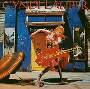 Cyndi Lauper(シンディ・ローパー)の名曲、Time After Time-タイム・アフター・タイムが収録されたアルバム