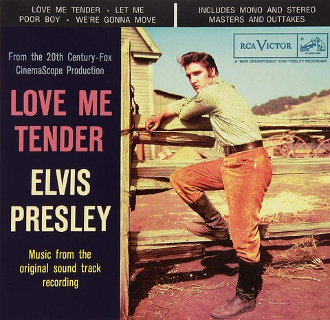 Elvis Presley(エルヴィス・プレスリー)の名曲、Love Me Tender - ラヴ・ミー・テンダーが収録されたアルバム