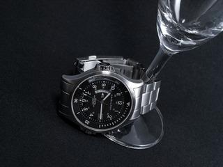 HAMILTONの時計。