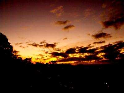 夜明けだ。