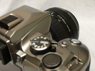 E-500 with Zuiko Didital 17.5-45mm F3.5-5.6