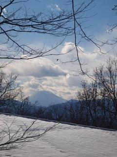 近くて遠い富士。