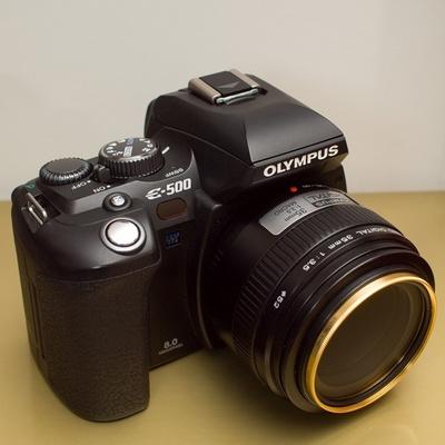 OLYMPUS DigitalSLR E-500
