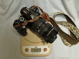 E-510標準ズーム重量セット。