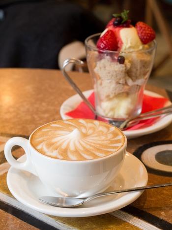カフェ&イチゴのトライフル