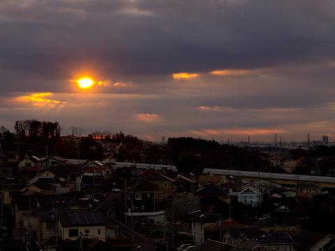 朝陽の矢。