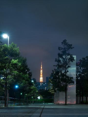 遥か東京タワー。
