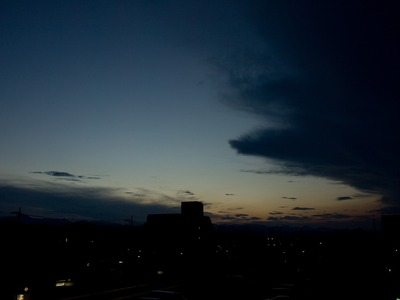 良い空だ。