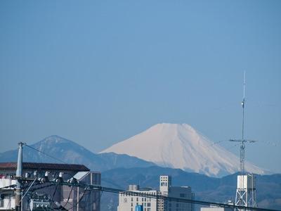 霊峰富士。
