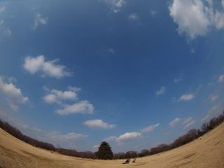 丸い空、丸い大地。(ZD8FishEye)