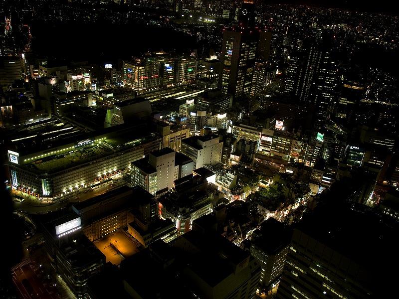 新宿駅周辺。