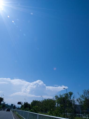 夏色の空!
