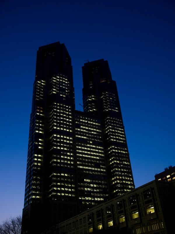 東京都庁。