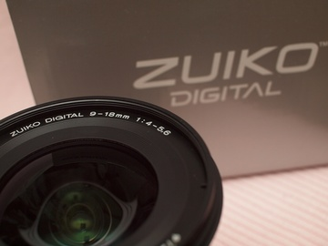 ZUIKO DIGITAL ED9-18mm F4-5.6 その弐。