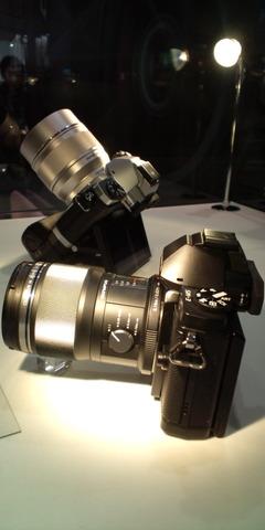 OM-Dと試作レンズ