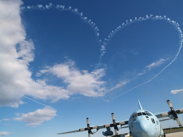 BLUE IMPULSE HEART